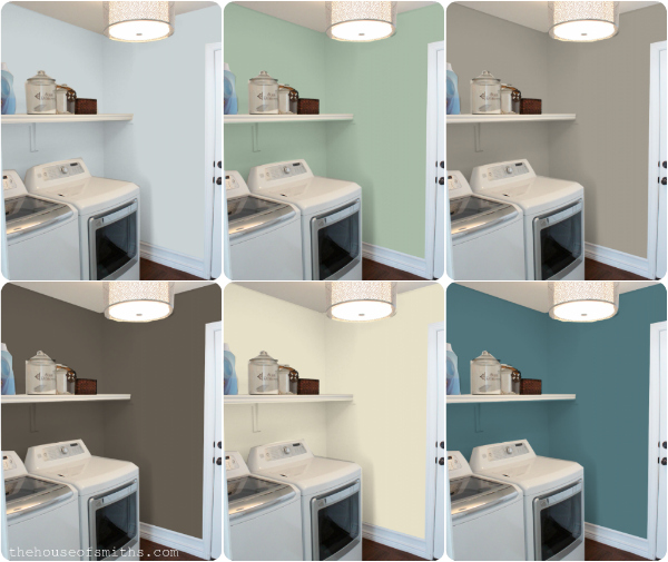 Laundry Room Paint Color Ideas | Home Trends Ideas
