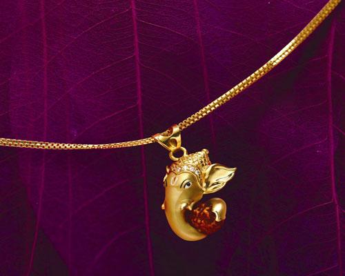 Ganpati vandana ganesh pendant designs gold silver diamonds pearl here are few interesting ganesh pendant designs made from gold diamond pearl and silver aloadofball Image collections