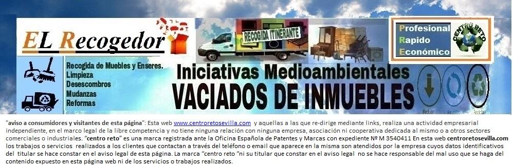 RECOGIDA DE MUEBLES Y ENSERES SEVILLA