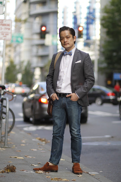 Soo Kim Bowtie Seattle Street Style Fashion
