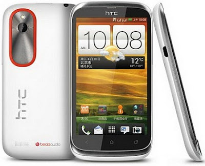 HTC Desire V Launched in India with Android ICS & Dual SIM