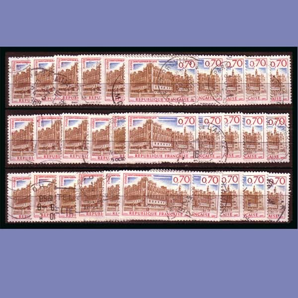 Philately philatelie stamps timbres lot timbres chateau de st germain en laye 1501 - La poste st germain en laye ...