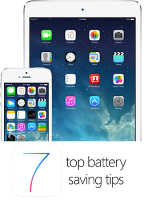 Apple iOS 7 Battery Tips and Tricks