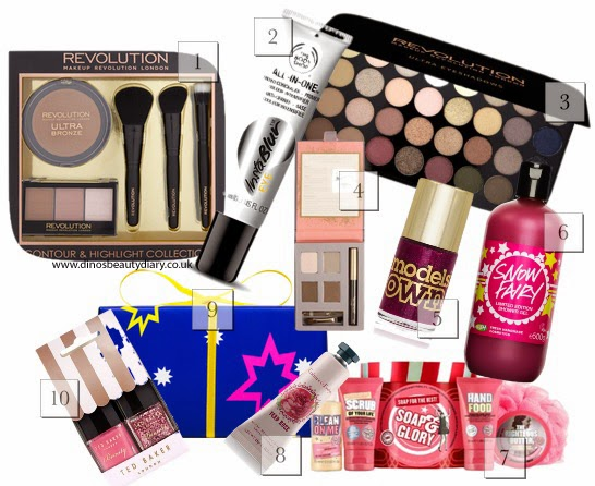 Dino's Beauty Diary - Christmas - Gift Guide For Her - Stocking Fillers - 10 items £10 or less