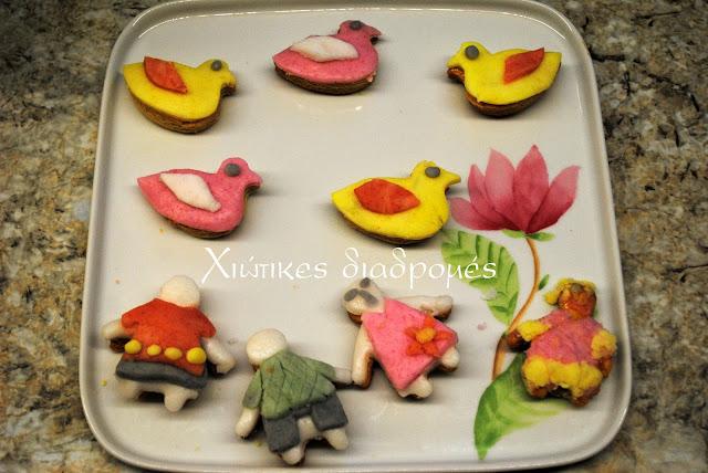 Ανοιξιάτικα μπισκότα