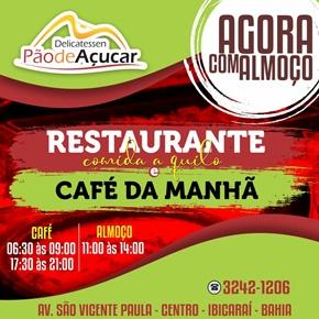 AGORA COM COMIDA A QUILO E CAFÉ DA MANHÃ E NOITE.