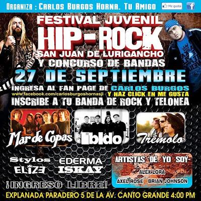 Trémolo en San Juan de Lurigancho - LIMA 27 de Septiembre 2013