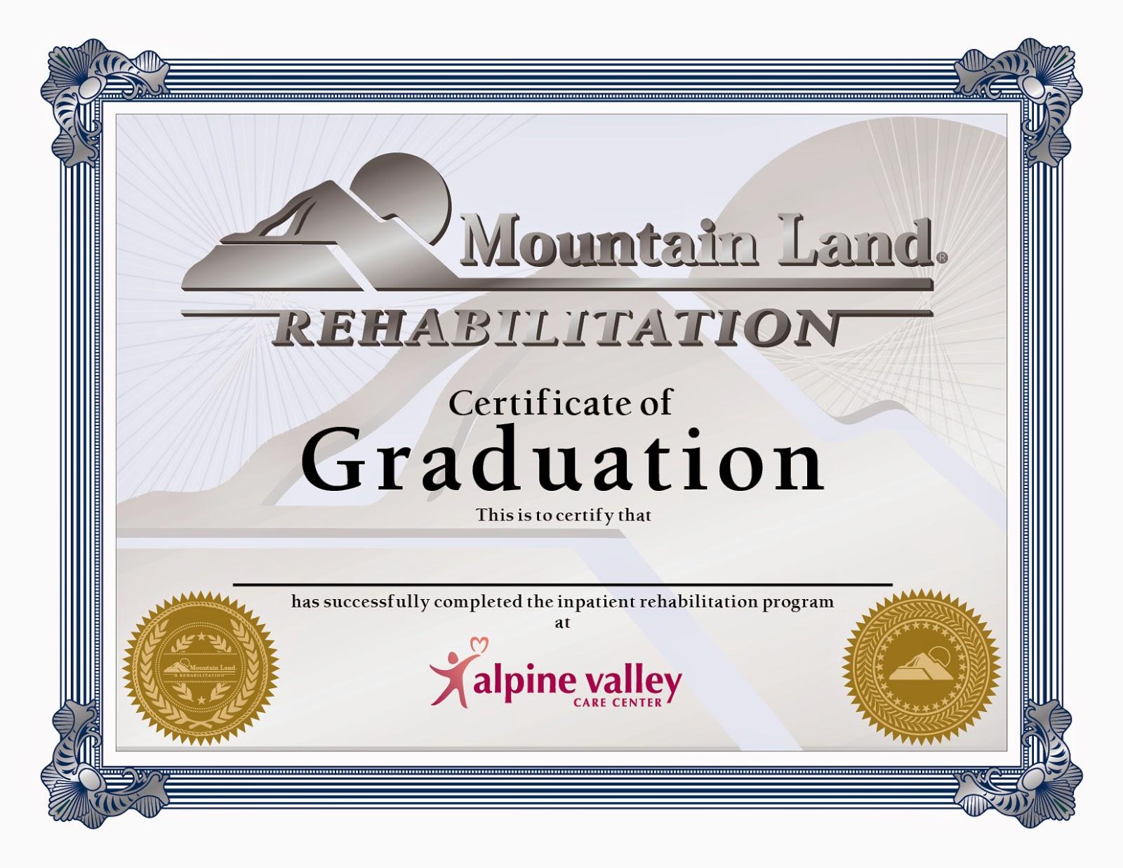 Graduation Certificates | Travis Alexander Portfolio