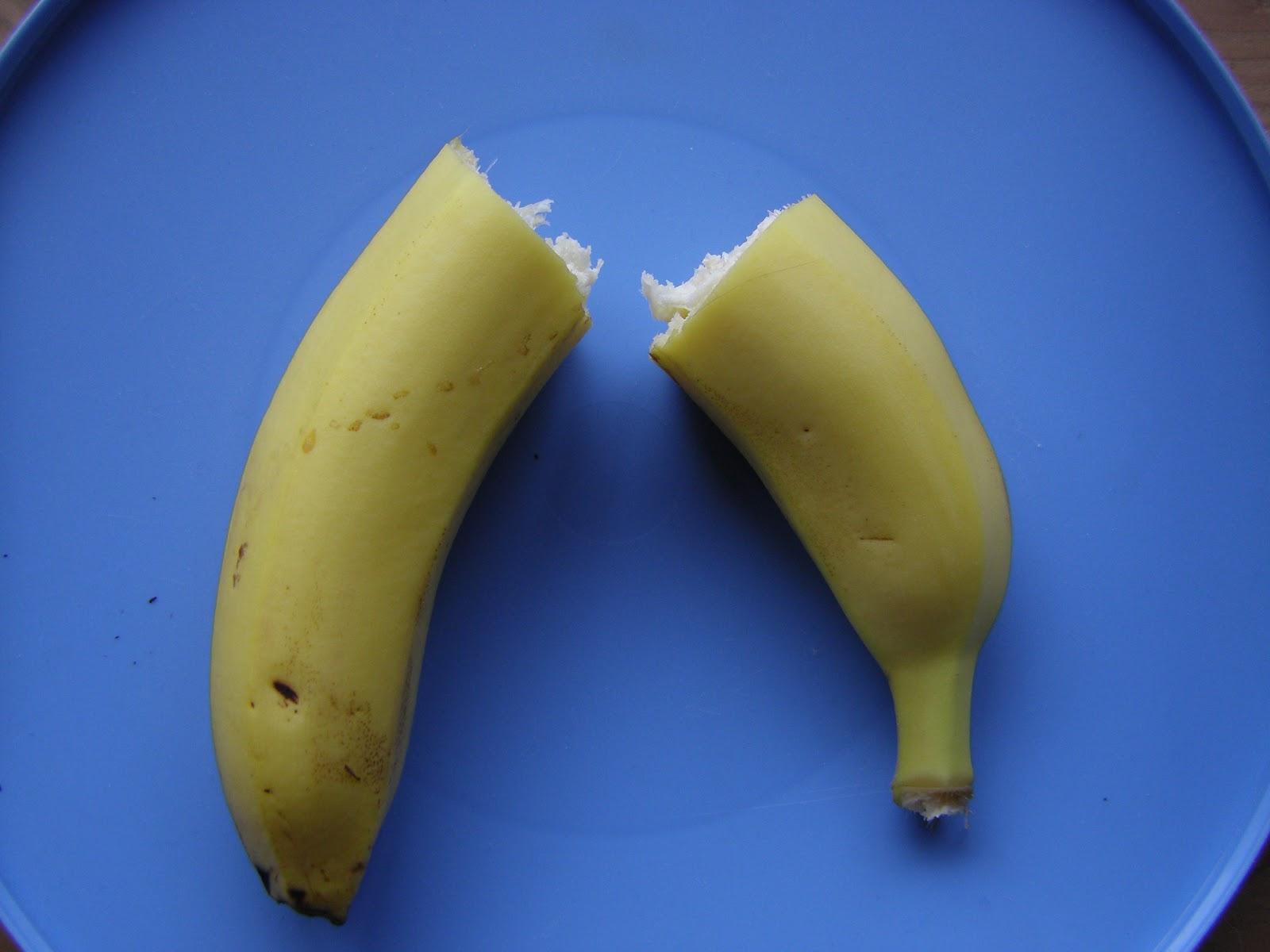 123kochen tipps f r k che und haushalt eine banane in. Black Bedroom Furniture Sets. Home Design Ideas