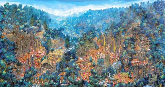 Karya Lukisan Bali