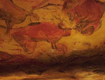 Lugares sorprendentes del mundo. Que visitar en españa. Las cuevas de altamira. Pinturas de la cueva de altamira