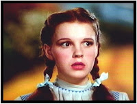 Picture of Judy Garland from the Wizard of Oz