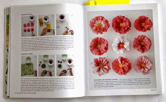 Getting stitched on the farm peonies yes the exquisite book of the instructions look excellent with all kinds of tips i have not had the chance to actually make any paper flowers but i am hoping to get to it this mightylinksfo