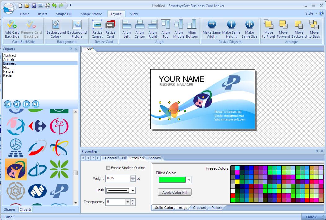 Smartsyssoft Business Card Maker License Key Choice Image - Card ...