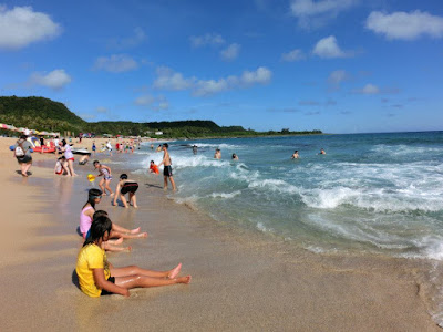 Sea activities at Kenting Beach Taiwan