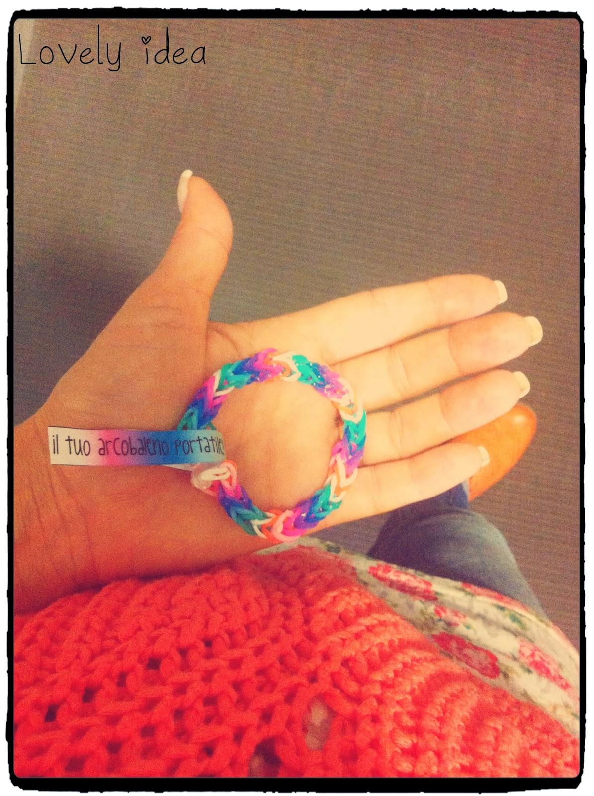 elastic band bracelets