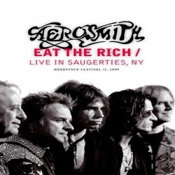 capa Aerosmith   Eat The Rich Live In Saugerties New York