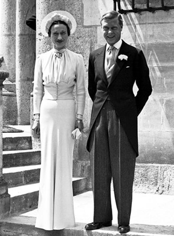 Couture Allure Vintage Fashion: Wallis Simpson's Wedding Dress