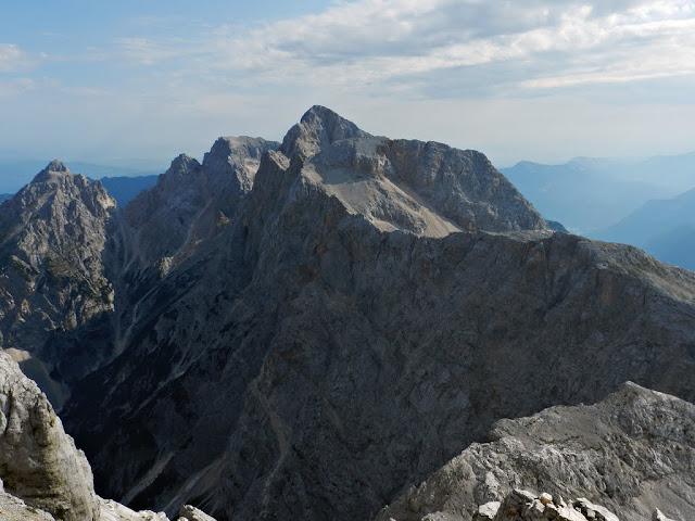 Škrlatica dalla cima del Razor