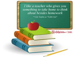 Teachers give more than homework