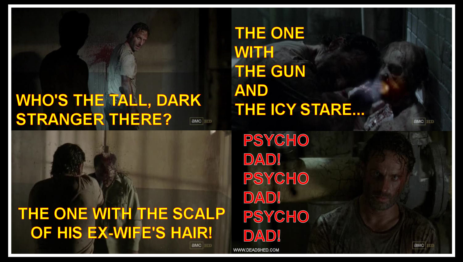 Rick the Psycho Dad Edition - The Walking Dead 3x05 memes...
