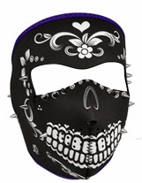 Spiked Muerte Face Mask