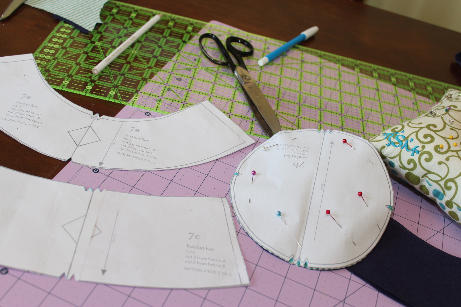 I ve never sewn a hat or something quite that round before and had some  reservations f9590b01920