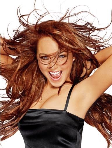 Lindsay Lohan Hairstyle