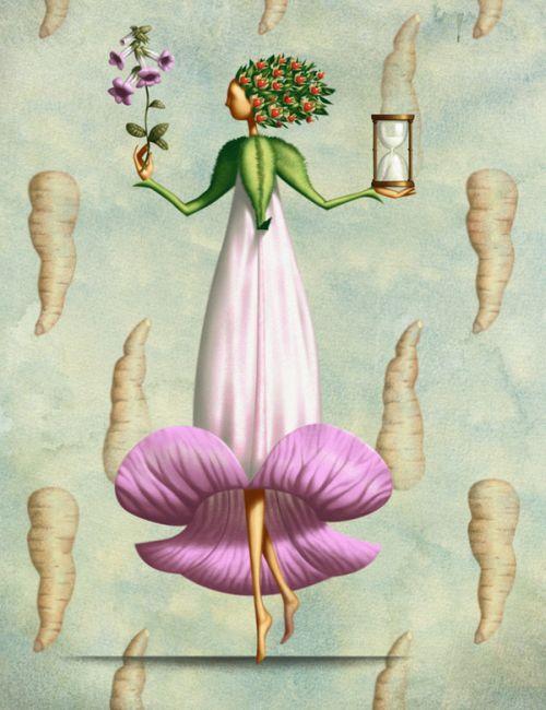Jim Tsinganos ilustrações surreais oníricas natureza revista Lírio