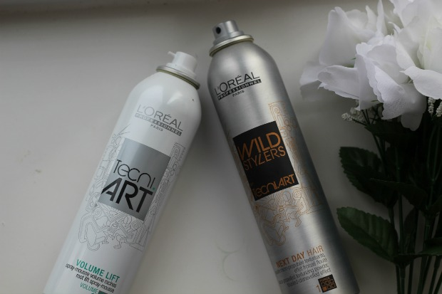 L'Oreal Professionel, Tecni.Art, volume lift spray mousse, next day hair spray, review