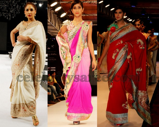 Georgette Sarees with Benaras Borders