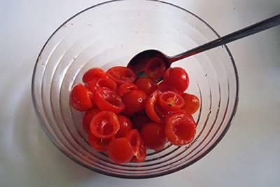 Torta salata ricotta e pomodorini 6