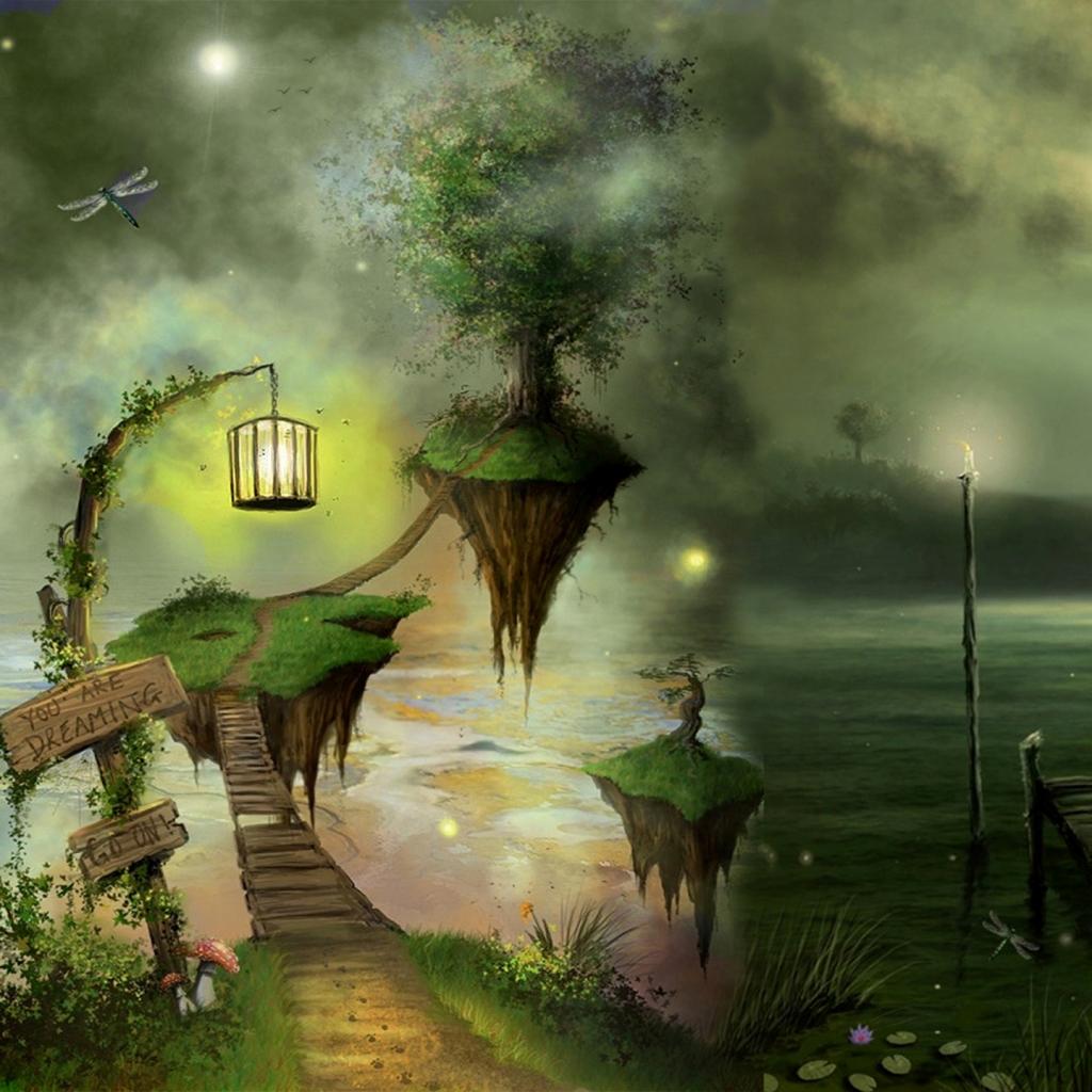 Dreamland Ipad Wallpaper