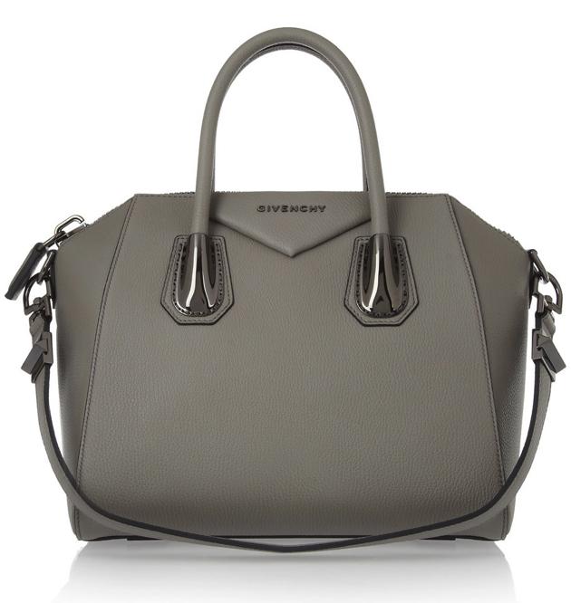 Givenchy Antigona Bag (Small) in Gray Leather