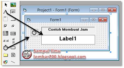 Cara Mudah Membuat Jam Di Visual Basic