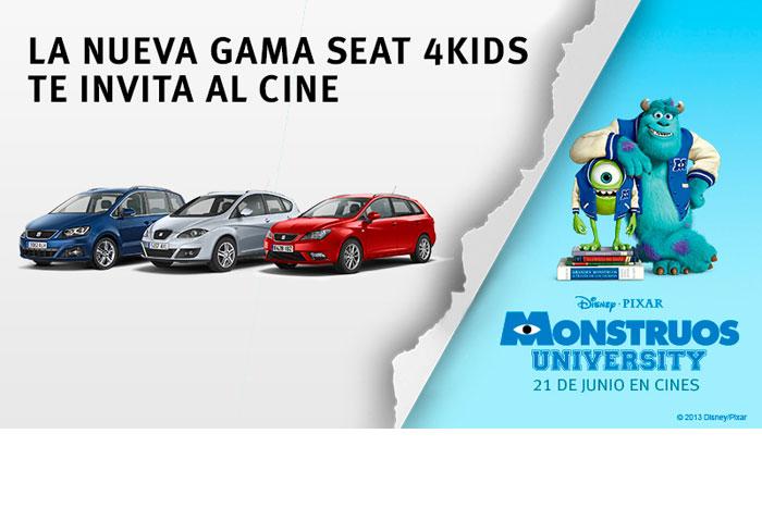SEAT 4 Kids en colaboración con Pixar