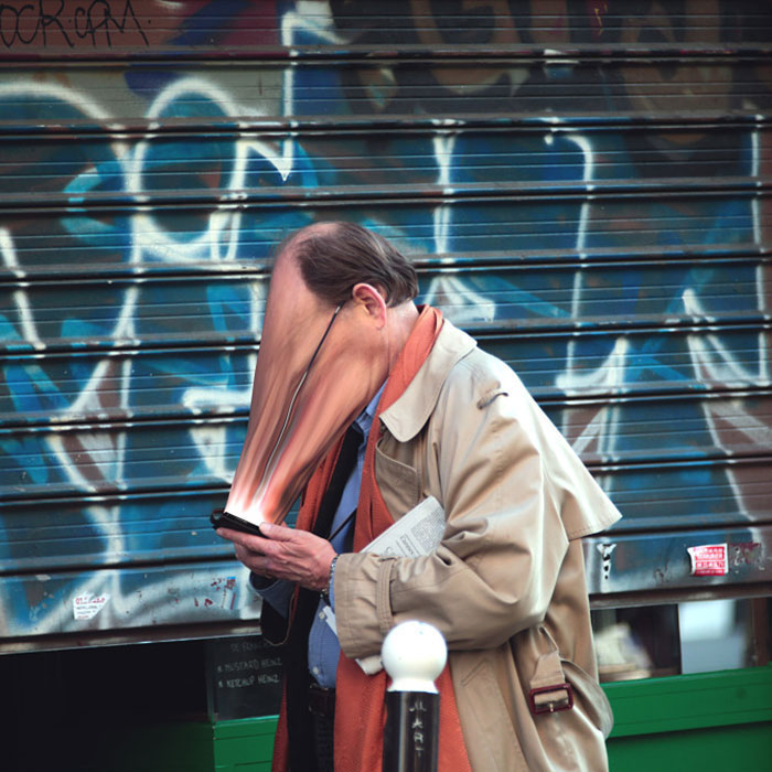 Unbelievable Pictures Illustrate How Cell Phones Suck Our Souls Everyday