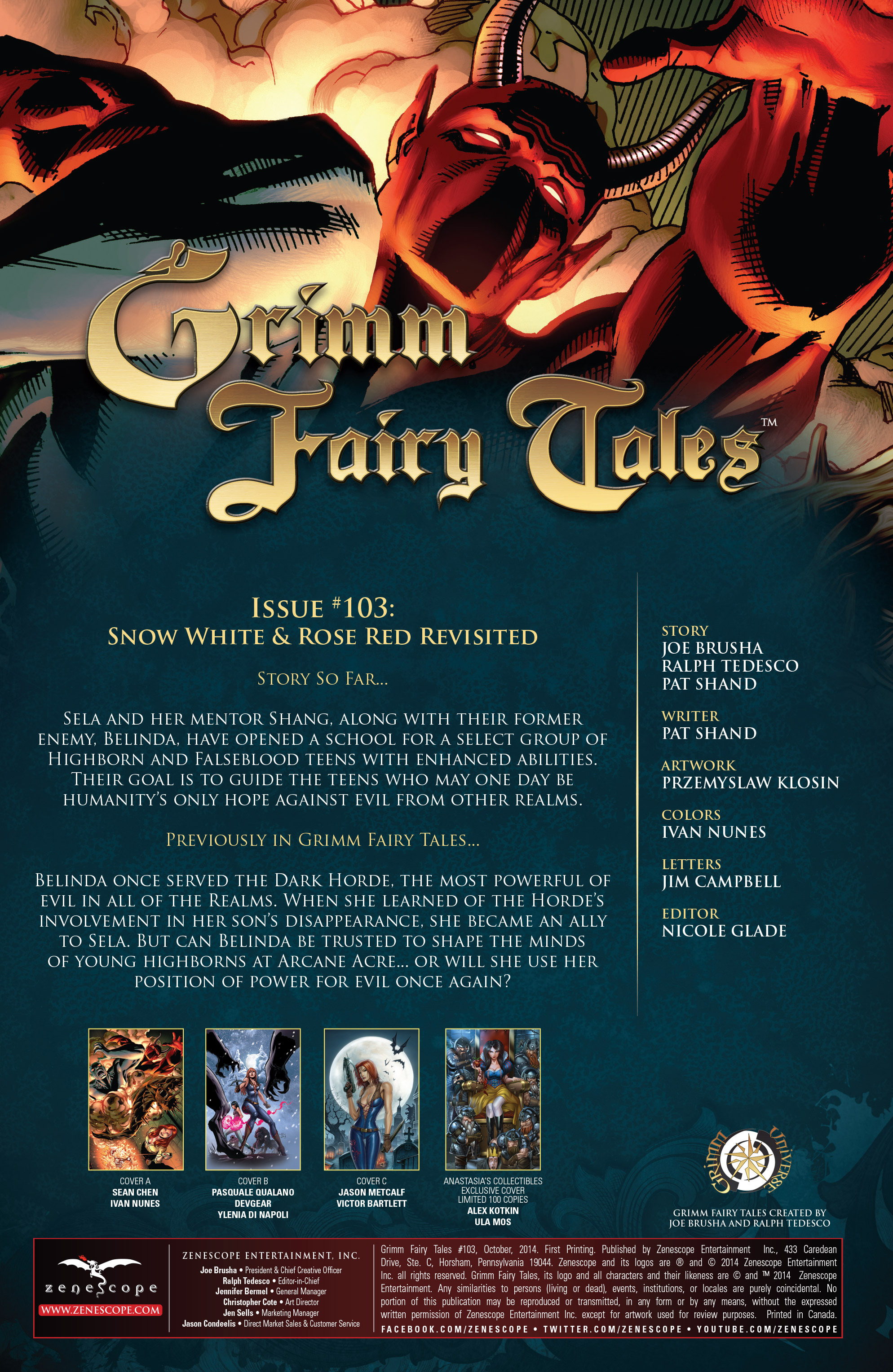 Grimm Fairy Tales (2005) Issue #103 #106 - English 3