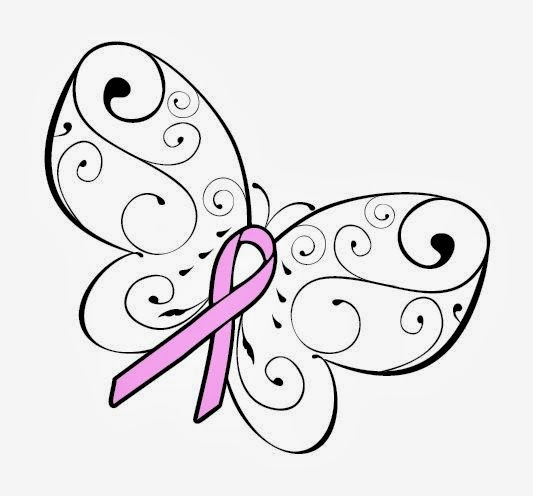 cancer ribbons coloring pages - photo#14