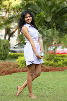 Hebah Patel cut eyoung beauty actress Spotted in Short Frock Mini Skirt Beautiful Pics Must see