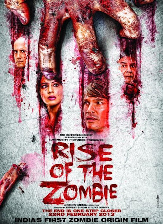 Poster Of Hindi Movie Rise of the Zombie 2013 Full HD Movie Free Download 720P Watch Online