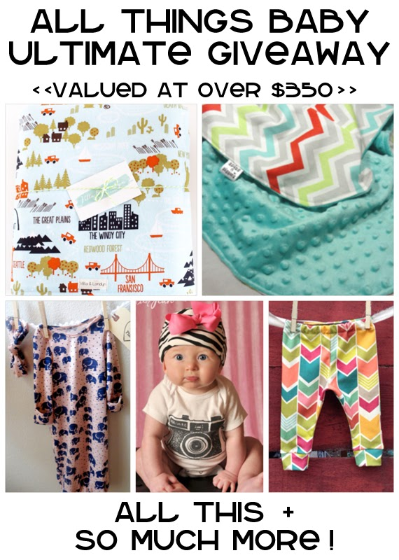all things baby giveaway! HUGE! - A girl and a glue gun