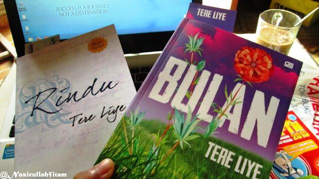 Dua kolkesi Tere Liye dari beli di Gramedia
