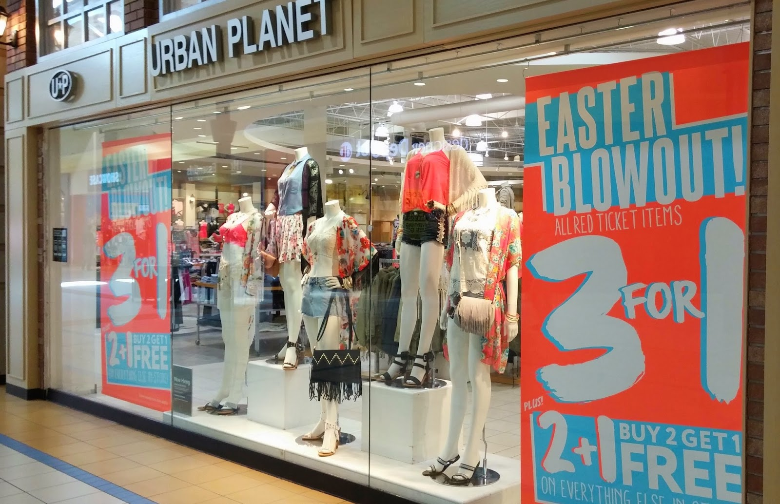 Urban Planet Dixie Outlet Mall