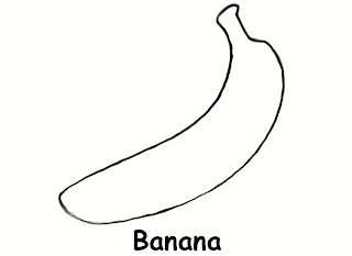 Banana Coloring Page  Search Results  Fun Coloring Pages