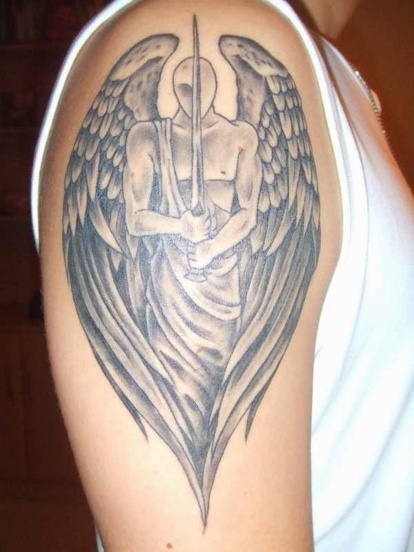 latest angel tattoo designs