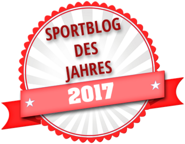 Auszeichnung Sportblog 2017