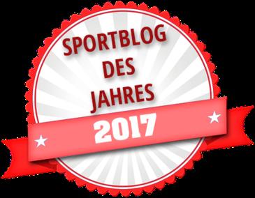 Auszeichnung Sportblog 2017