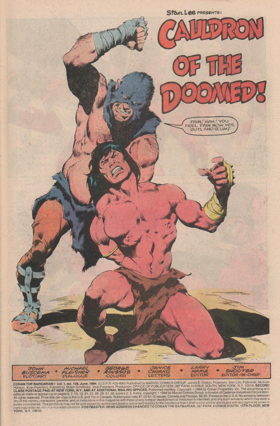 Conan the Barbarian (1970) Issue #159 #171 - English 2