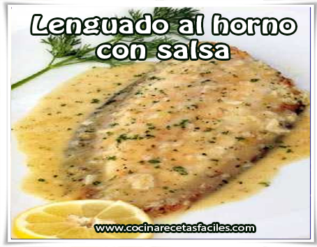 Lenguado al horno con salsa recetas f ciles - Lenguado al microondas ...